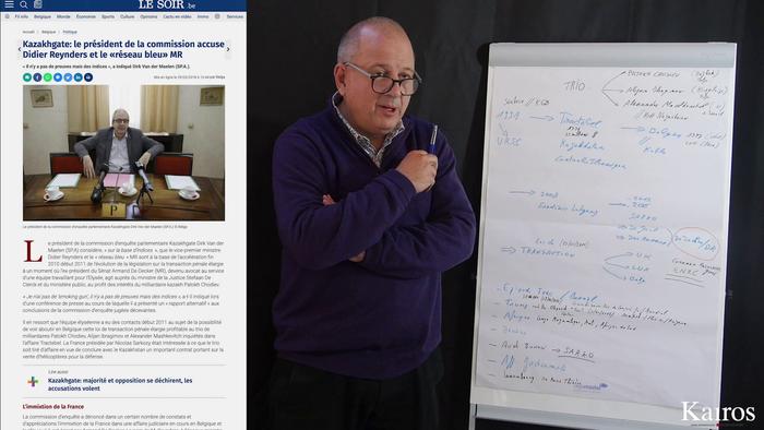LE SCANDALE DU KAZAKHGATE: INTERVIEW DE NICOLAS ULLENS (3/4)