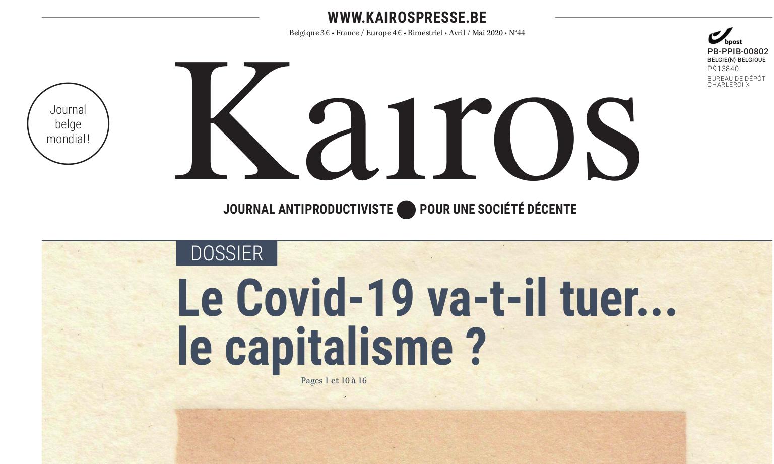 Le Covid-19 va-t-il tuer… le capitalisme?